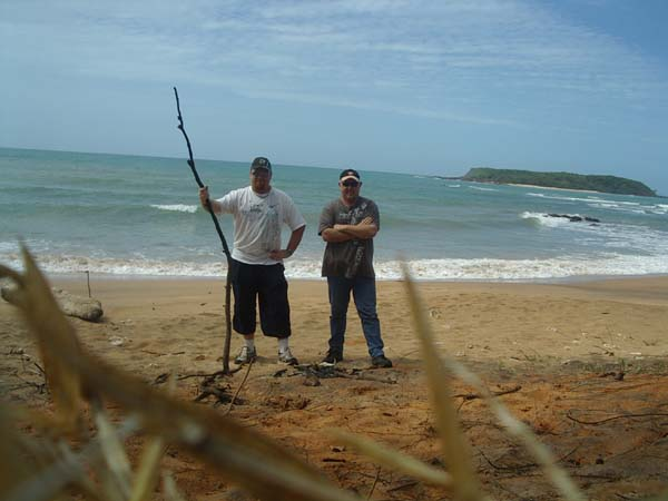 Craig Edwards and Dave Onley - Arafura Sea