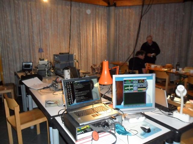 Main listening area